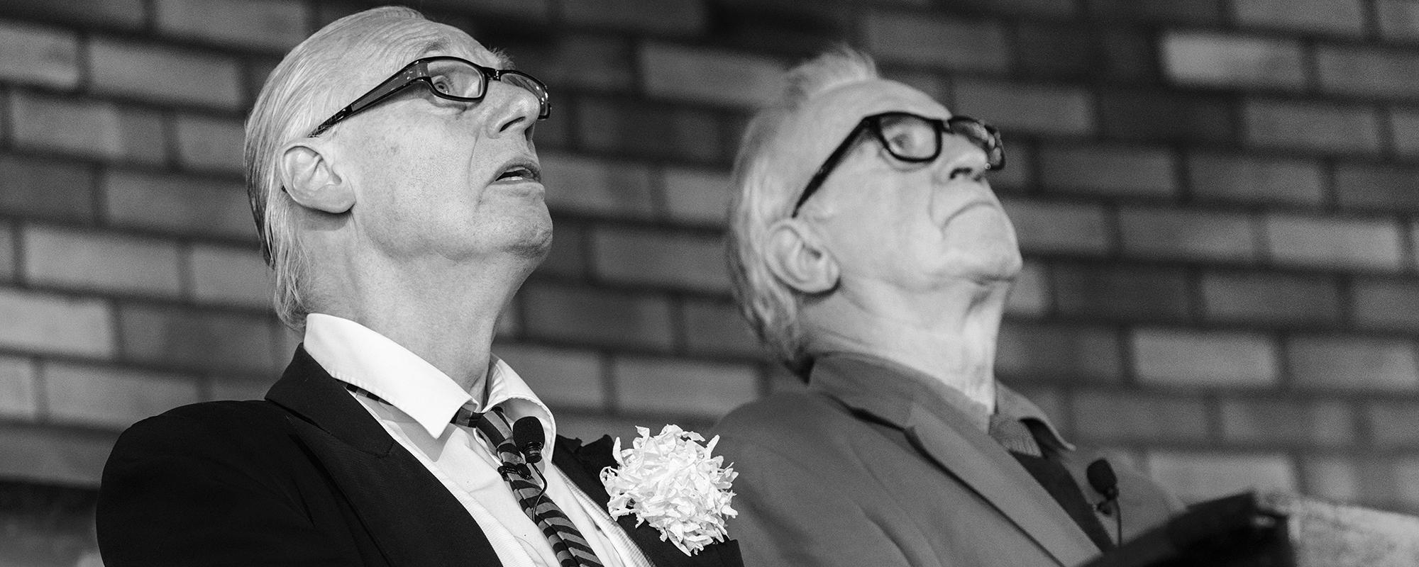 Rainer Pause (links) und Martin Stankowski