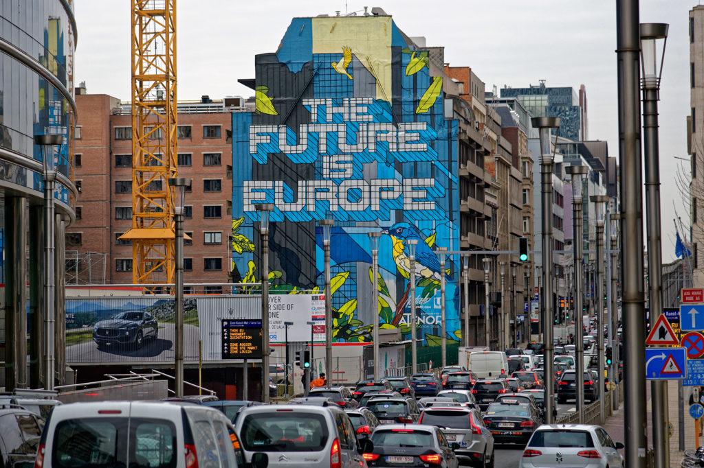 Im Europaviertel von Brüssel
